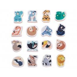 Puzzle Baño Animales Salvajes