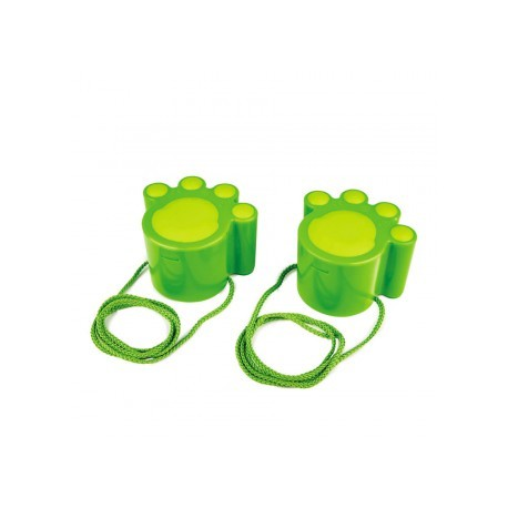 Zancos Huellas de Gato verde