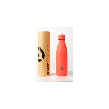 Botella Termica Acero Inoxidable Coral