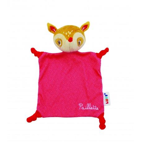 Doudou Bichette Bambi Rojo