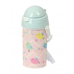 Botella Agua con Pajita preescolar pajar