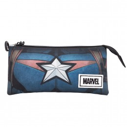 Capitan America Ches Portatodo Triple Hs