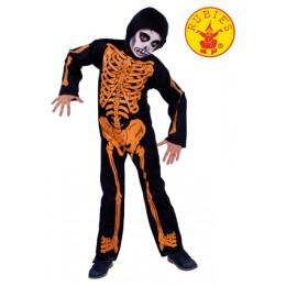 Disfraz Infantil Esq.huesos Naranjas T-S