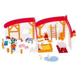 Casa de Muñecas en la granja