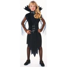 Disfraz Niña Vampira Murcielago Talla L