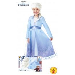Disfraz  Frozen II Elsa con pelucha T-M